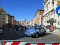 Watykan kwadrata świętego Peter msza Pope Francis Roma Włochy obraz stock