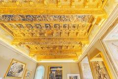 WATYKAN, WATYKAN MAY 09, 2017: Wśrodku Watykańskiego muzeum, Obrazy Stock