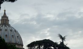 Watykan pogoda Fotografia Stock
