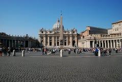 Watykan - St Peters bazylika - Rzym, Włochy - Zdjęcie Stock