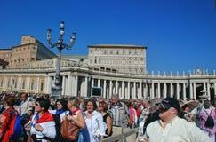 Watykan - St Peters bazylika - Rzym, Włochy - Zdjęcia Royalty Free