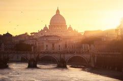 Watykański Rzym Fotografia Royalty Free