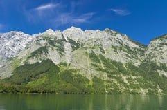 Watzmann dans les Alpes bavarois Image stock