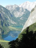 Watzmann e Koenigssee Imagem de Stock Royalty Free