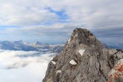 Watzmann Mittelspitze foto de stock royalty free
