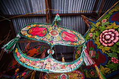 Wau Bulan. Is a famous traditional kite in Kelantan Stock Photography