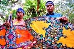 Wau (malaysian kite) Royalty Free Stock Photo