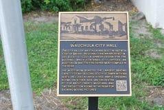 Wauchula histórico la Florida Fotos de archivo