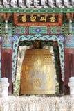 waujeongsa виска колокола большое Стоковое Изображение RF