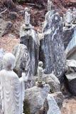 waujeongsa виска утеса монаха Стоковое фото RF