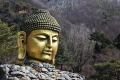 Waujeongsa temple in korea Royalty Free Stock Photo