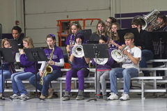 Waukesha北部高中乐队 免版税库存图片