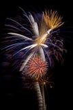 Wauw Vuurwerk Royalty-vrije Stock Foto