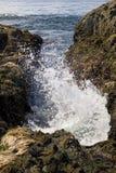 Wave. On a beach Stock Photo