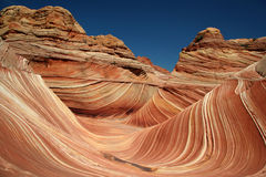 The Wave (2). Vermilion Cliffs National Monument royalty free stock photo