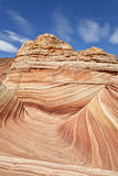 The Wave. The famous rock formation in the Paria Canyon-Vermilion Cliffs Wilderness, Arizona, USA stock photos