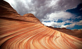 The Wave. Arizona nature formation The Wave in North Coyote Buttes Stock Images