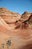 'The Wave'. Vermilion Cliffs royalty free stock photos