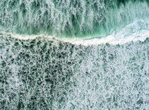 Wave from above Royalty Free Stock Image