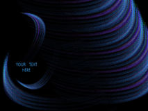 Wave abstract background element Royalty Free Stock Images