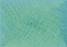 Wave abstract background vector. Scratched background. Blue and green vector illustration Stock Image