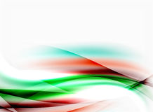 Wave abstract background Royalty Free Stock Photos