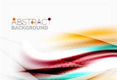 Wave abstract background Royalty Free Stock Photography