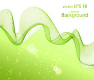Wave abstract images, color design Royalty Free Stock Photos