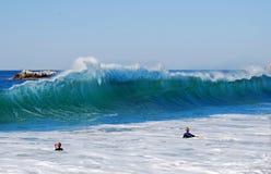 Wave alla spiaggia principale, Laguna Beach, California Fotografia Stock