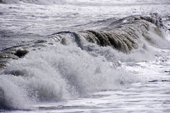 Wave in andalusia Spain Stock Images
