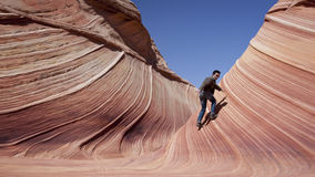 The Wave, Arizona Royalty Free Stock Photos