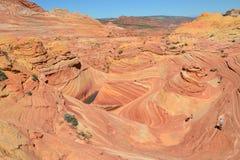 The Wave at Arizona(44) Stock Image