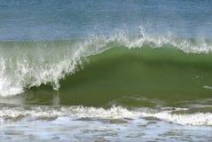 Wave on atlantic coast Royalty Free Stock Photos