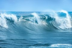 Wave in Atlantic Ocean. Big Wave in Atlantic Ocean royalty free stock image