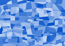 Abstract Polygon. This Artwork is Abstract Polygon Background in shades of blue Stock Images
