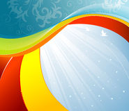 Wave background Royalty Free Stock Images
