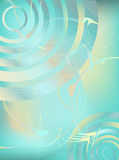 Wave background Stock Image