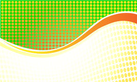 Wave Background. Bright circle background with wave elements vector illustration