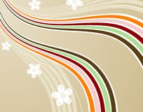 Wave background Royalty Free Stock Photos