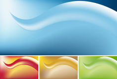 Wave Background Stock Photography