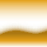 Wave background with halftone effect Royalty Free Stock Photography
