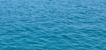 Wave background on the open sea Stock Photos