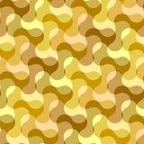 Seamless water wave pattern Stock Photos