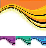 Wave backgrounds Royalty Free Stock Photography