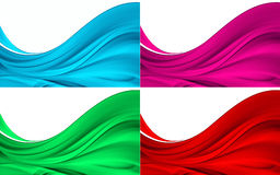 Wave backgrounds design Royalty Free Stock Photography