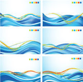 Wave backgrounds Stock Photo