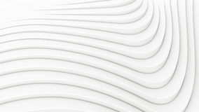 Wave band abstract background surface 3d rendering Stock Photos