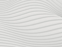 Wave band abstract background surface 3d rendering Stock Images