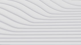 Wave band abstract background surface 3d rendering Royalty Free Stock Photography