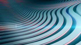 Wave band abstract background surface Stock Photo